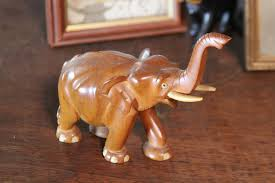 carve an elephant from wood