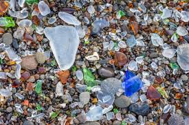 polish sea glass with dremel